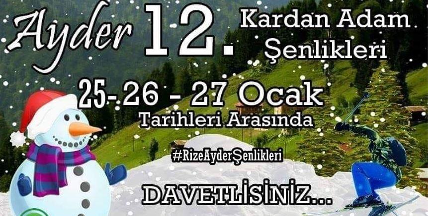 Ayder  Kar Festivali