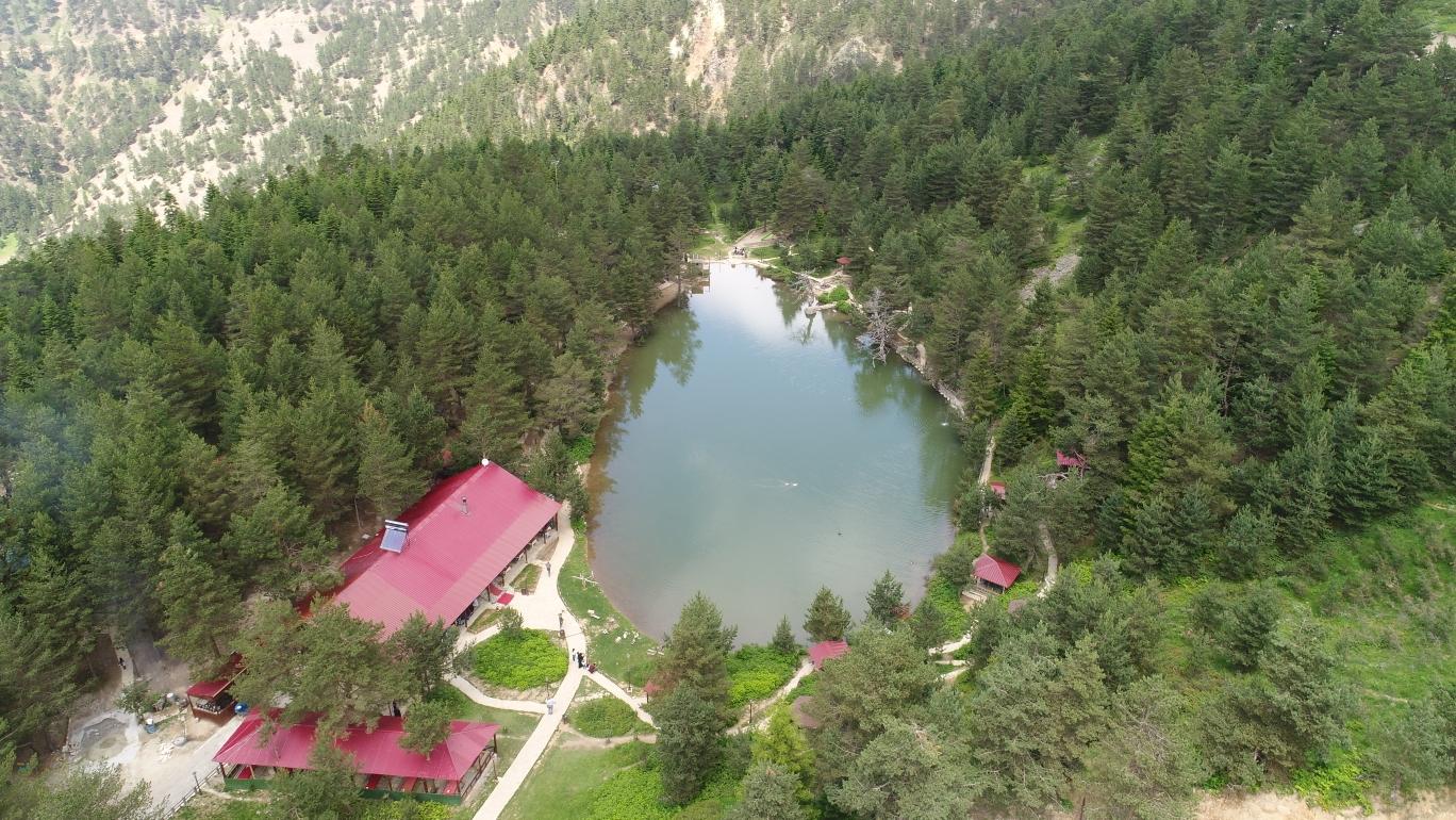 Trabzon Kamp yerleri Limni gölü