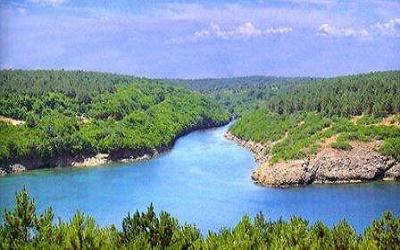 Sinop kamp yerleri Hamsilos koyu